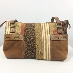 Relic patchwork purse